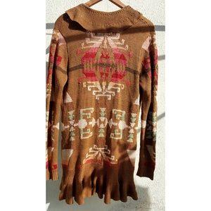 Ralph Lauren Country Indian Hand Knit Sweater